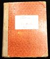 Tagebuch Carl Wendt (Marine)