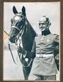 Foto und Helmschmuck  Arnulf Freiherr v. Berchem