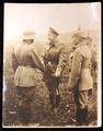 Arnulf Freiherr v. Berchem Foto mit dt. Kronprinzen
