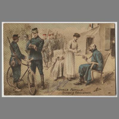01 3 Cartes postales de Joseph à Fernand Lévêque Amiens