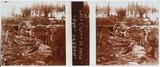 FRBNFM-221 Clichés stéréoscopiques édités relatant  des scènes de la Grande Guerre