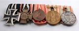 Deutsche, österreichische, ungarische und bulgarische Orden des Jägers Anton Preuschoff