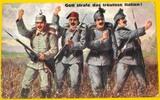 """""""Viel Feind, viel Ehr ... und Gott mit Euch""""  - Postkarte an die Front"""