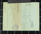 Brief vom Unteroffizier August Adolph von der Westfront
