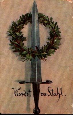 Erinnerung an das Kaiserwort 1917, Postkarte.JPG