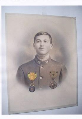 Mon oncle, Jean-Joseph ASTIER, Croix de guerre