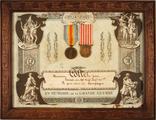 FRAD087_005-Médailles décernées à Jean Collet