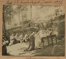 FRBNBU-102 Camille Victor Belmon assiste à une messe en pleine forêt d'Argonne