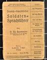 Soldatensprachführer von Peter Klaes
